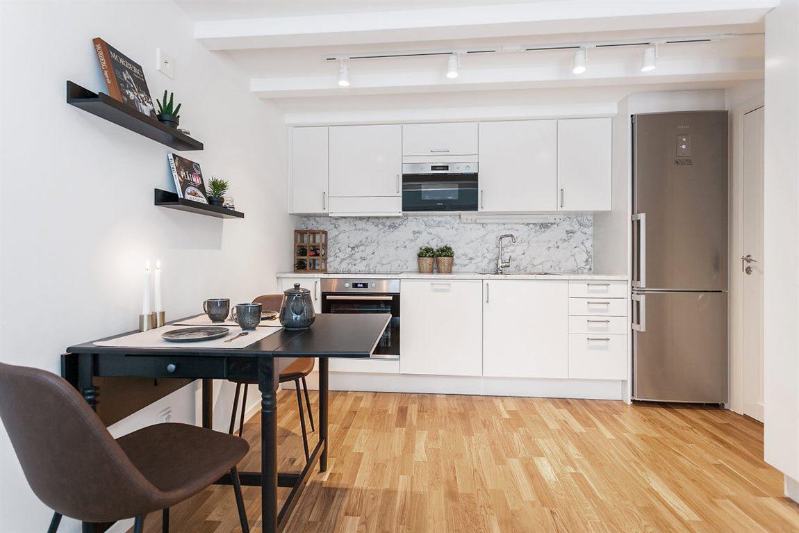 Stilfullt och välutrustat kök