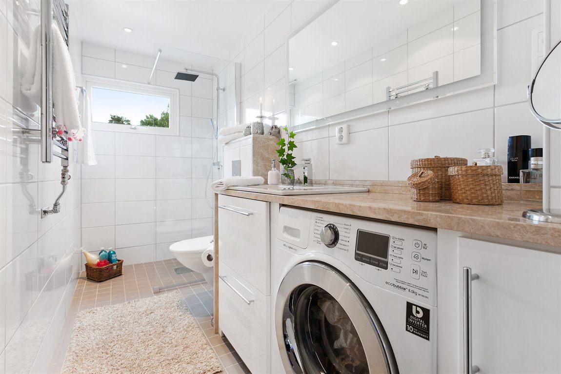 Stilren dusch/WC/tvätt övre plan