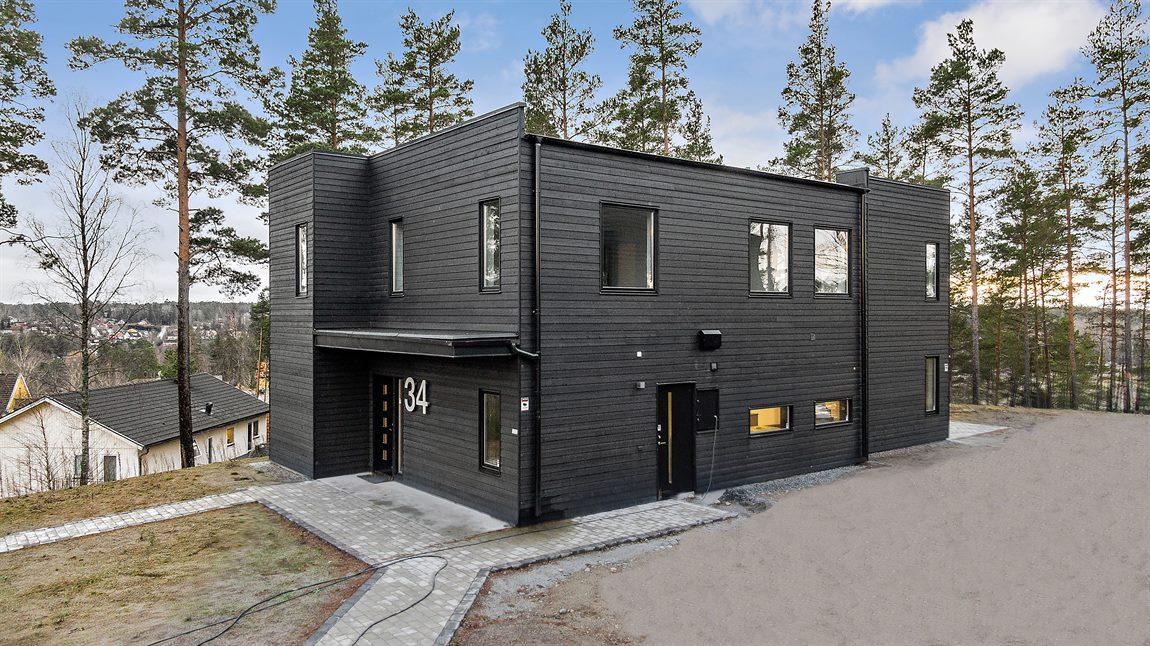Villa Rånö (exempelbild på hur villan kommer se ut)